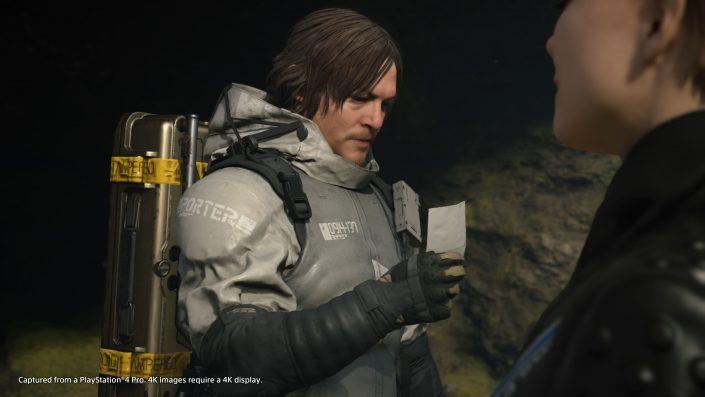 Death Stranding: Auch wie ein Shooter spielbar, Ziel ist aber, die Welt wieder zu verbinden – Sam der einzige spielbare Charakter