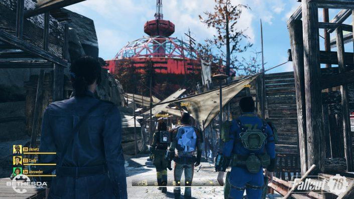 Fallout 76: Weitere Details zu Teamkillern, der Map, Main-Theme und frisches Gameplay-Material