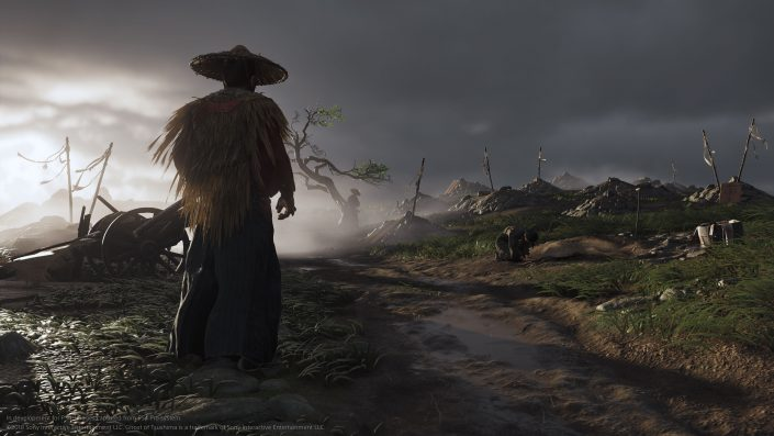 Ghost of Tsushima: PS5 mit 60 FPS vs PS4 Pro in der Performance-Analyse