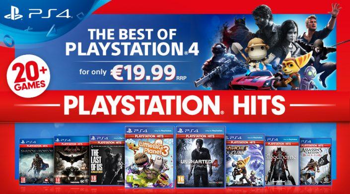 PlayStation Hits: Neue Budget-Reihe mit PS4-Must-Have-Spielen für 20 Euro und neues PS4-Bundle angekündigt