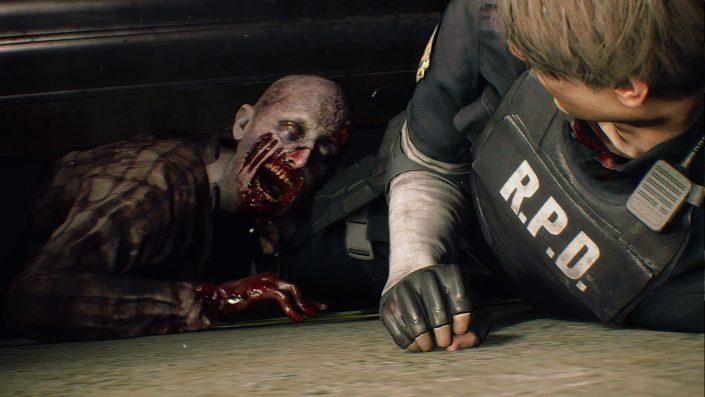 Gameplay-Präsentationen zu Resident Evil 2, Metro Exodus, Call of Duty Black Ops 4, Shadow of the Tomb Raider; Hitman 2, Assassin's Creed Odyssey