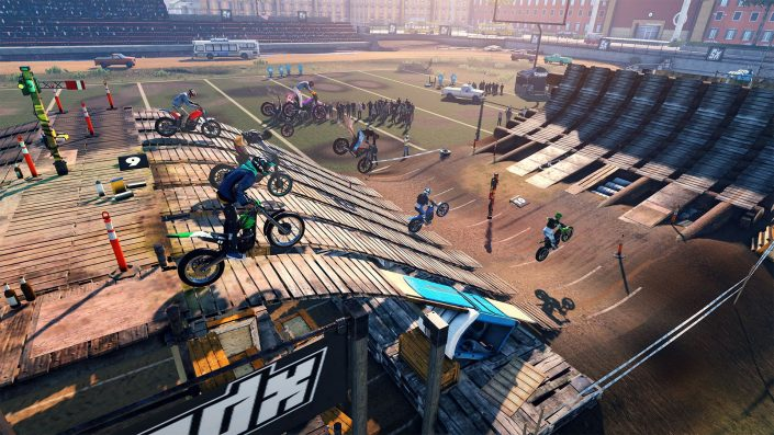 Trials Rising: Video zeigt 5 Minuten Gameplay aus der Beta