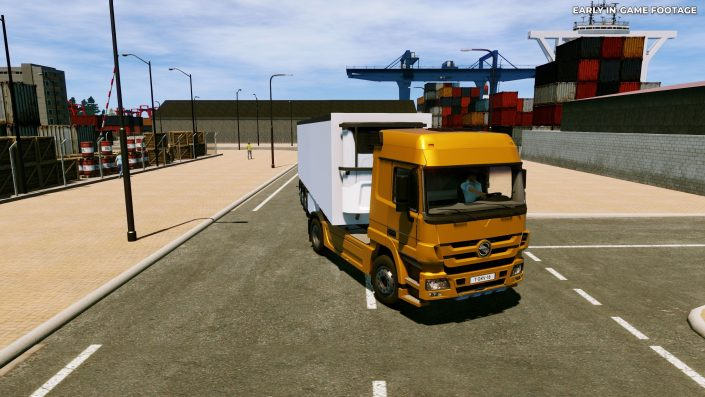 Truck Driver: Erster Gameplay-Trailer zur Trucker-Simulation