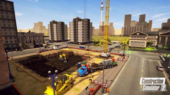 Bau-Simulator 2 US Console Edition: Launch-Trailer stellt die Spielfeatures vor
