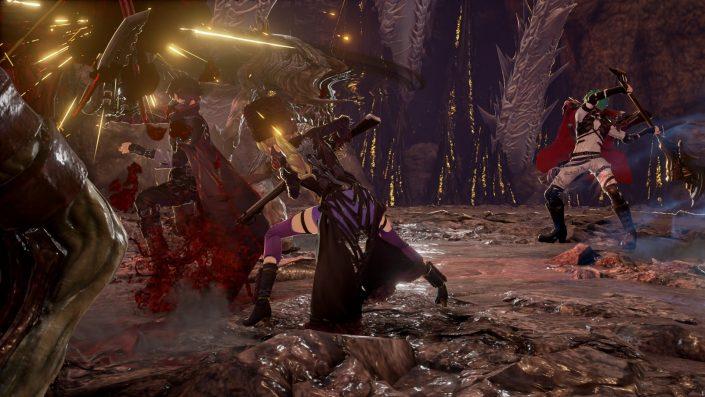 Code Vein: Die Hellebarde im neuen Waffen-Trailer vorgestellt
