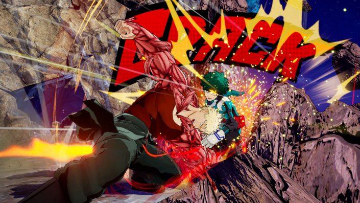 My Hero One's Justice:   Neue Videos  zum 3D-Arena-Kampfspiel zeigen Gran Torino und Muscular in Action