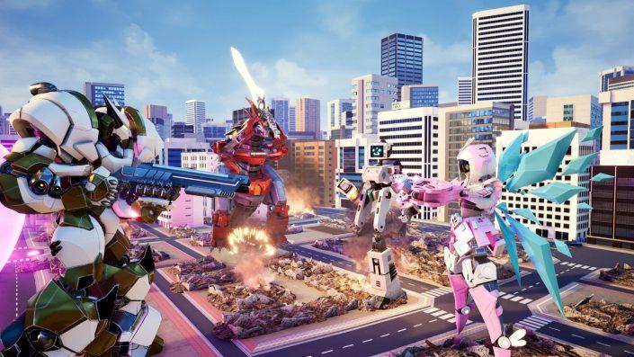 Override Mech City Brawl: 3D-Mecha-Brawler mit Trailer und Screenshots angekündigt