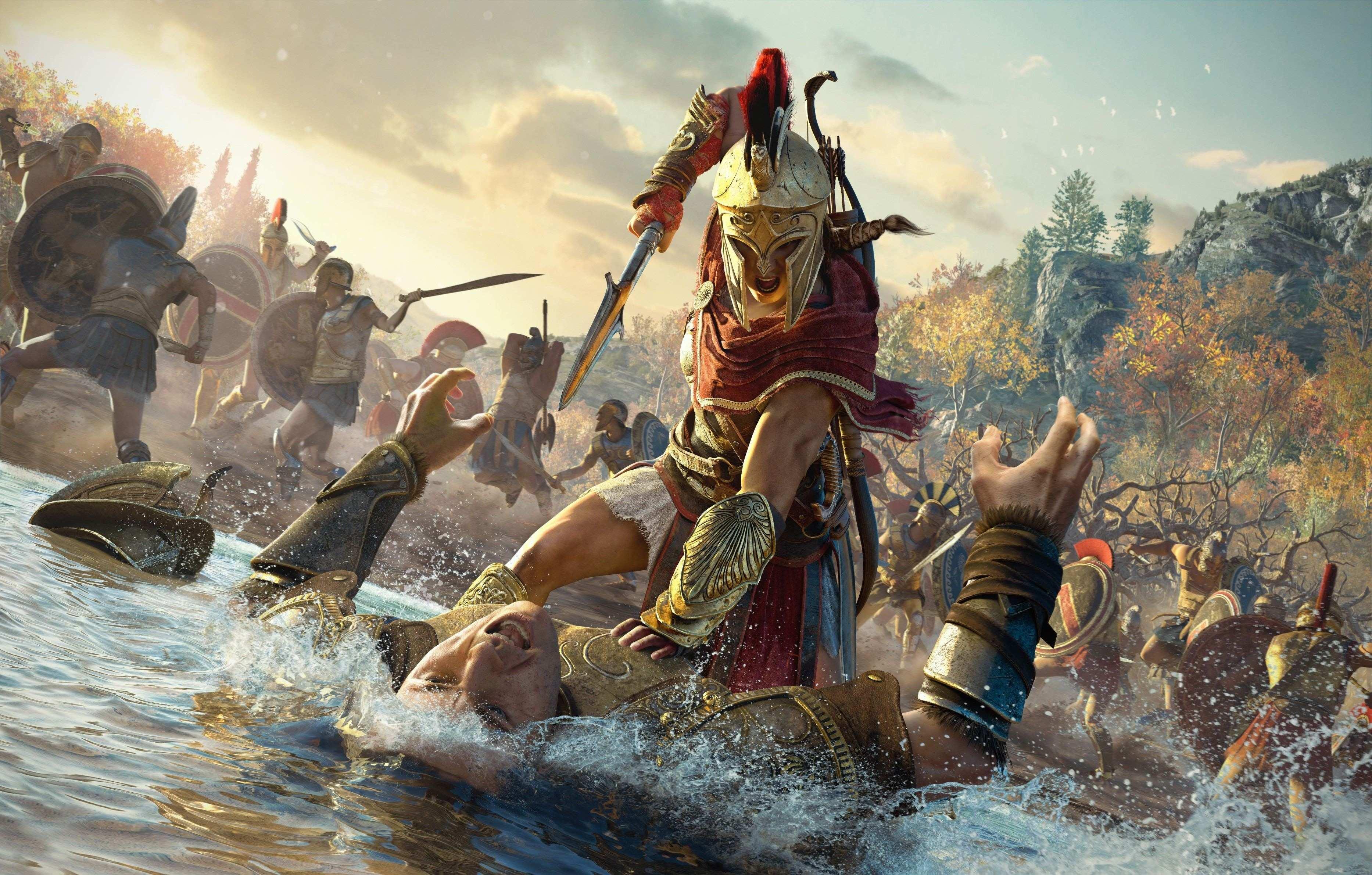 Assassin's Creed Odyssey Gamescom_Kassandra_Final