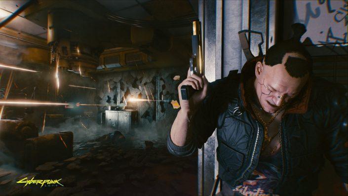 """Cyberpunk 2077: PS4-Nutzer können kostenloses """"Söldner der finsteren Zukunft""""-Design herunterladen"""