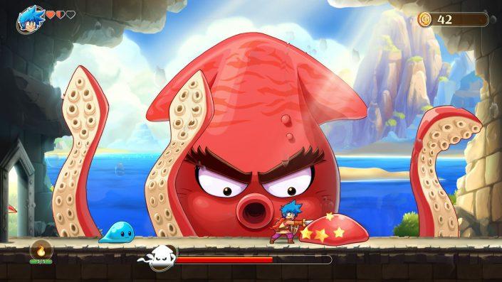 Monster Boy and the Cursed Kingdom: Inkl. Gratis-Upgrade für PS5 & Xbox Series X angekündigt