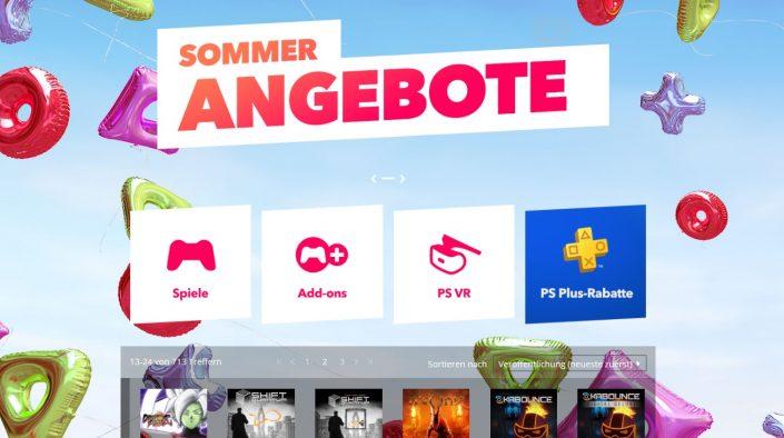 PlayStation Store: Sommerangebote um weitere Titel ergänzt