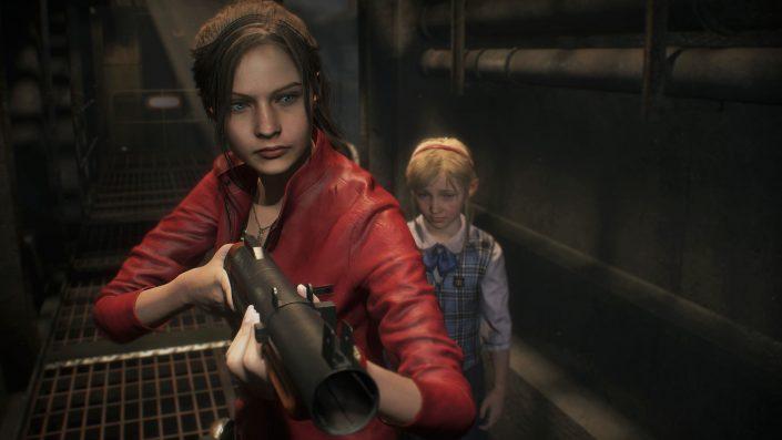 Resident Evil 2: Neue Gameplay-Szenen mit Leon, Ada, Claire vs. Tyrant