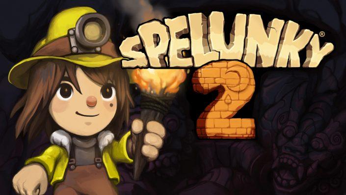 Spelunky 2: Termin und umfangreicher Gameplay-Trailer enthüllt