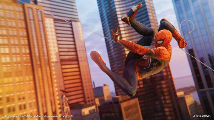 Marvel's Spider-Man: Der Accolades-Trailer zum gefeierten PS4-Exklusivtitel