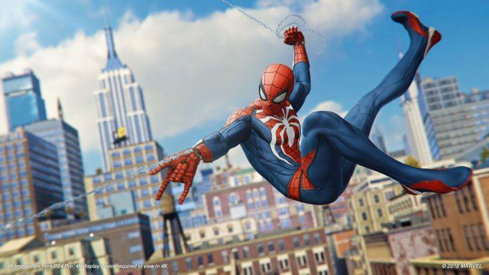 PS5: So könnten die von Cerny angedeuteten Ladezeiten von Spider-Man auf der neuen Konsole aussehen