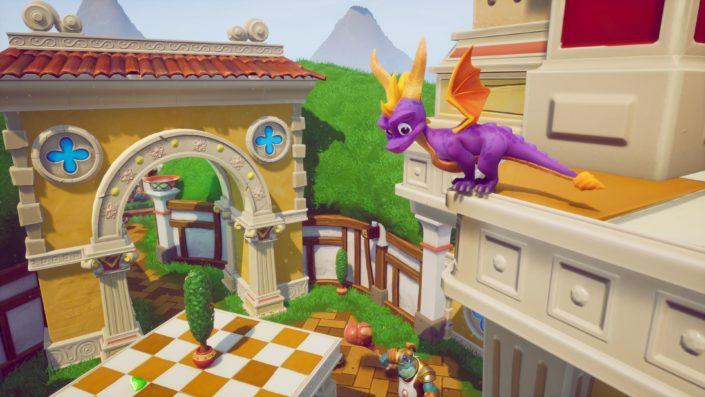Spyro Reignited Trilogy: Weiterhin Day-One-Download nötig, Verschiebung kam dem Feinschliff zugute