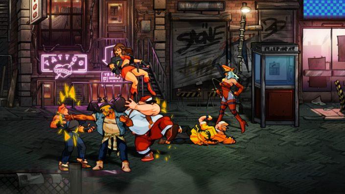 Streets of Rage 4: Darum sieht das Spiel so aus – Hintergrunddetails zum Grafikdesign im Video