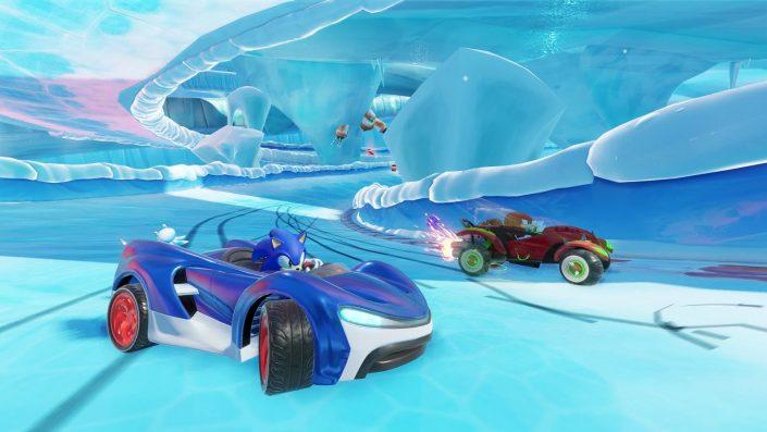 Team Sonic Racing: Gameplay-Video zeigt die TGS-Demo