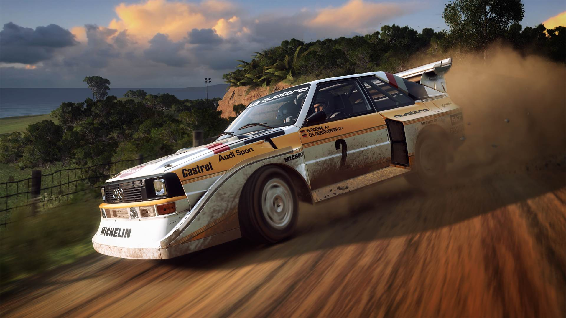 dirt rally 2 0 chief gameplay designer ross gowing stellt. Black Bedroom Furniture Sets. Home Design Ideas