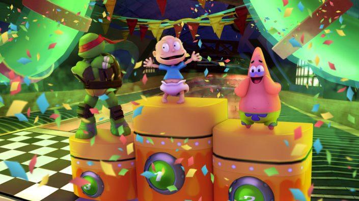 Nickelodeon Kart Racers: Der Fun-Racer zeigt sich im ersten Gameplay-Trailer