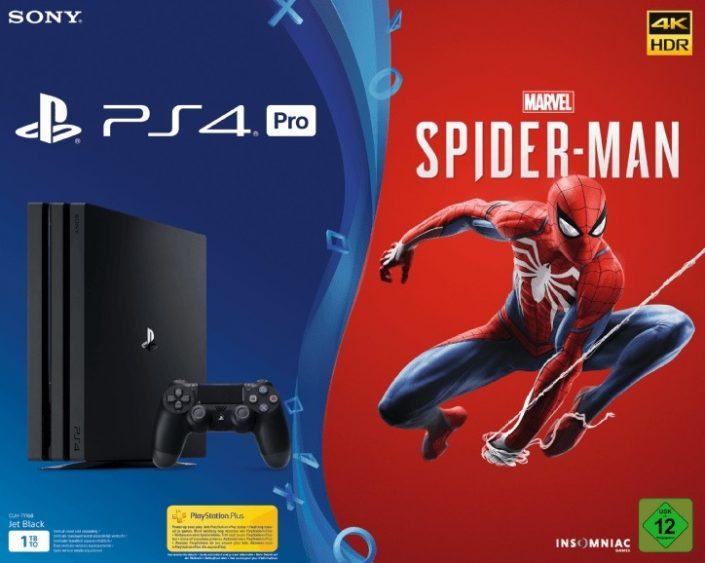 PS4 Pro-Bundle mit Spider-Man im Angebot