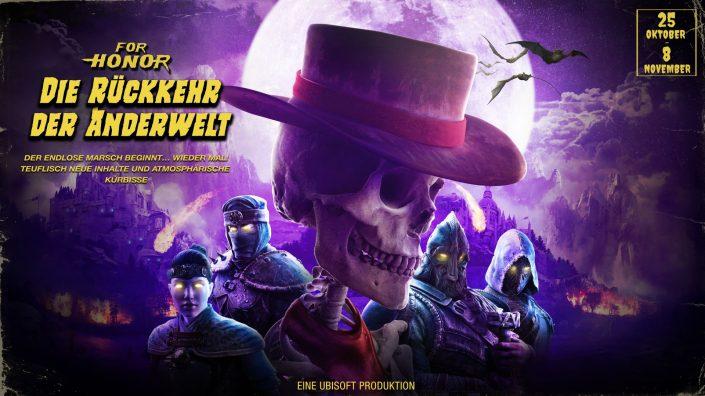 For Honor: Rückkehr der Anderwelt – Halloween-Event gestartet und vorgestellt