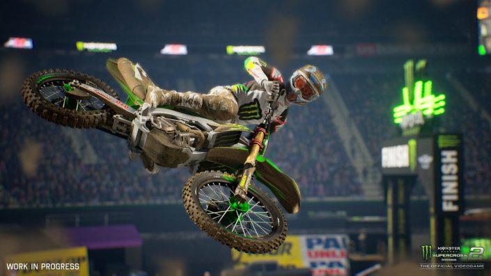 Monster Energy Supercross: The Official Videogame 2 – Der offizielle Trailer zum Launch in dieser Woche