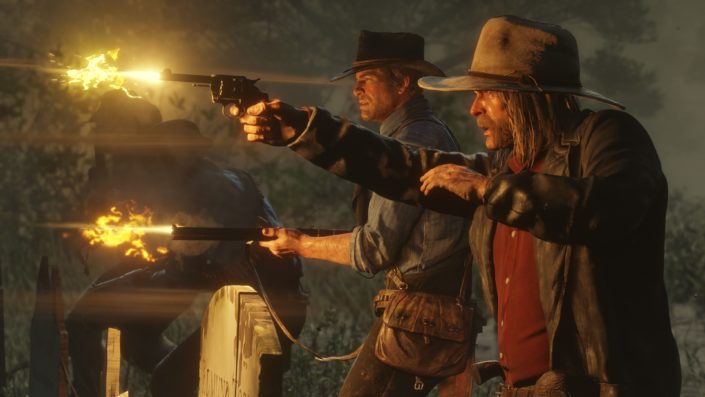 Red Dead Redemption 2: Much more successful in the first month than the first part