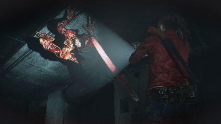 Resident Evil 2: Offizielles Video zeigt Licker Battle Gameplay