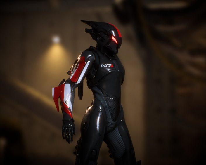 Anthem: BioWare zeigt eine N7-Rüstung in Gedenken an Mass Effect