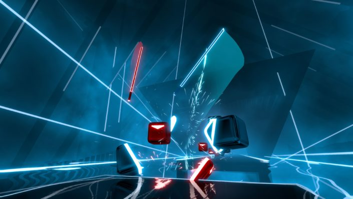 Beat Saber: The game with the action rhythm for the PSVR has a meeting