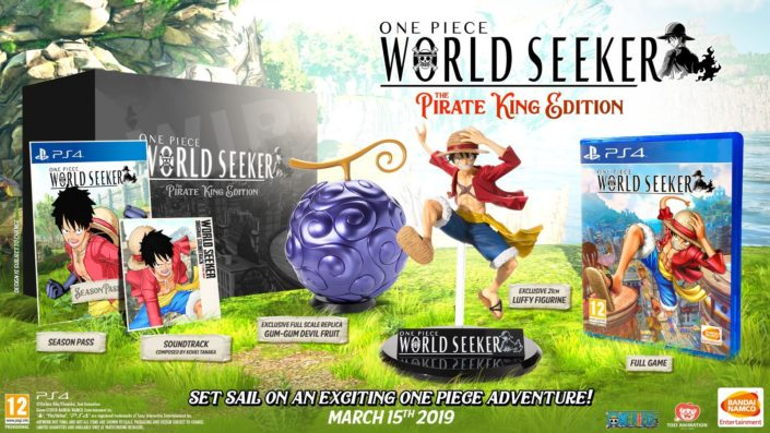 One Piece World Seeker: Details Releasetermin und Trailer enthüllt