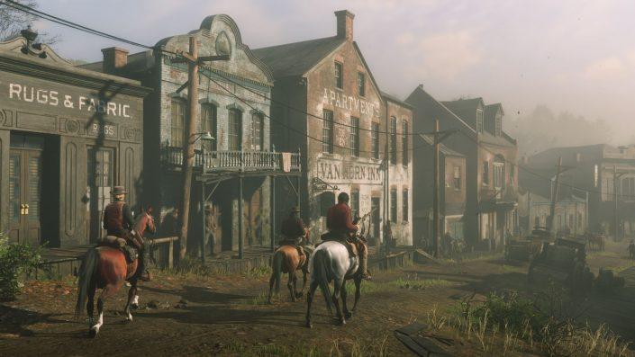 Red Dead Redemption 2: Vergleichsvideo mit Cyberpunk 2077 eingetroffen