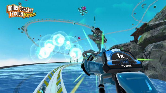 RollerCoaster Tycoon Joyride: Für die PS4 und PlayStation VR veröffentlicht – Trailer