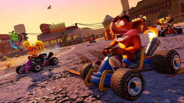 UK-Charts: Crash Team Racing Nitro-Fueled übernimmt die Führung