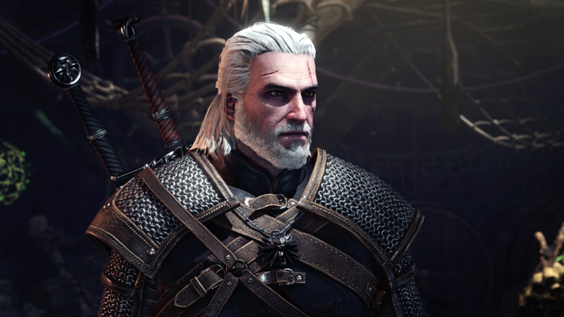 Monster Hunter World X The Witcher 3 (2)