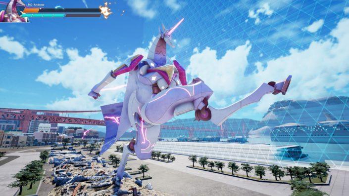 Override Mech City Brawl: DLC-Charakter Stardust vorgestellt – Ein freches mechanisches Einhorn im Trailer