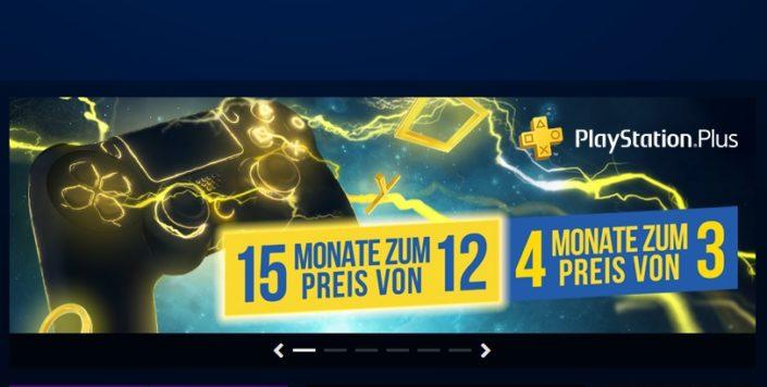 PlayStation Plus: Drei Monate gratis beim Kauf der Jahres-Mitgliedschaft