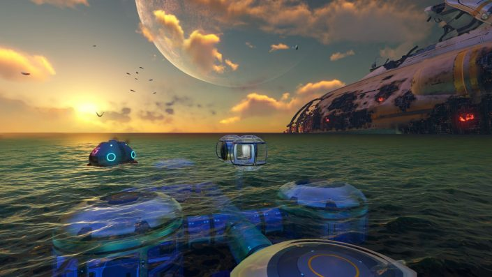 Subnautica: Installationsgröße auf der PS5 massiv reduziert