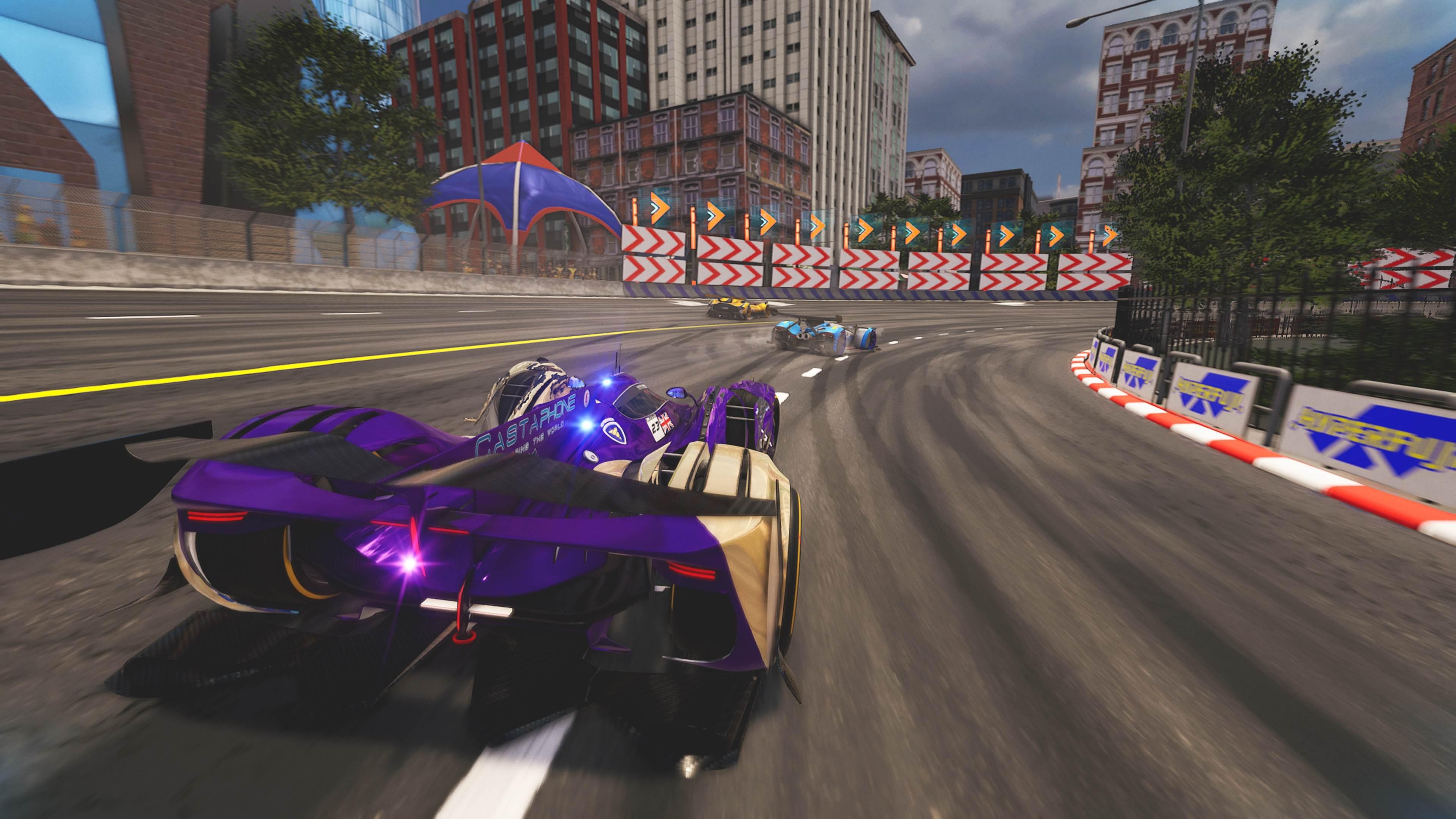 Xenon Racer – Bild 1