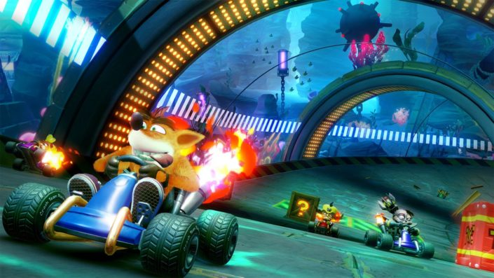 Crash Team Racing Nitro-Fueled: Frische Spielszenen zeigen die Neuauflage des Fun-Racer-Klassikers