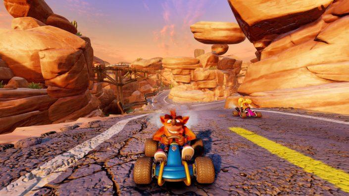 Crash Team Racing Nitro-Fueled: Erste kostenlose Bonus-Inhalte erscheinen im Juli – Trailer