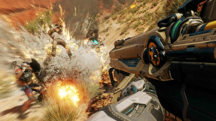 Rage 2: Neun Minuten Gameplay aus der Pre-Beta-Version