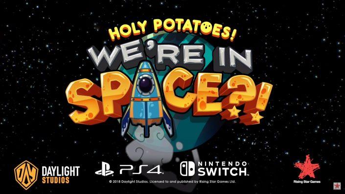 Holy Potatoes! We're in Space?!: Weltraum-Abenteuer mit Management-Elementen erscheint in Kürze