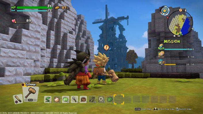 Dragon Quest Builders 2: Termin, neue Trailer und frisches Gameplay-Material