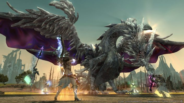 "Final Fantasy XIV: Trailer stellt die Inhalte des Updates 5.4 ""Futures Rewritten"" vor"