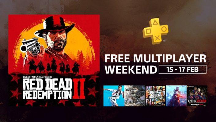 PlayStation Plus: Gratis Multiplayer-Wochenende auf PS4  – Red Dead Online, FIFA 19 und mehr