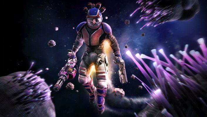 Space Junkies: Der VR-Titel unterstützt ab sofort PlayStation Move