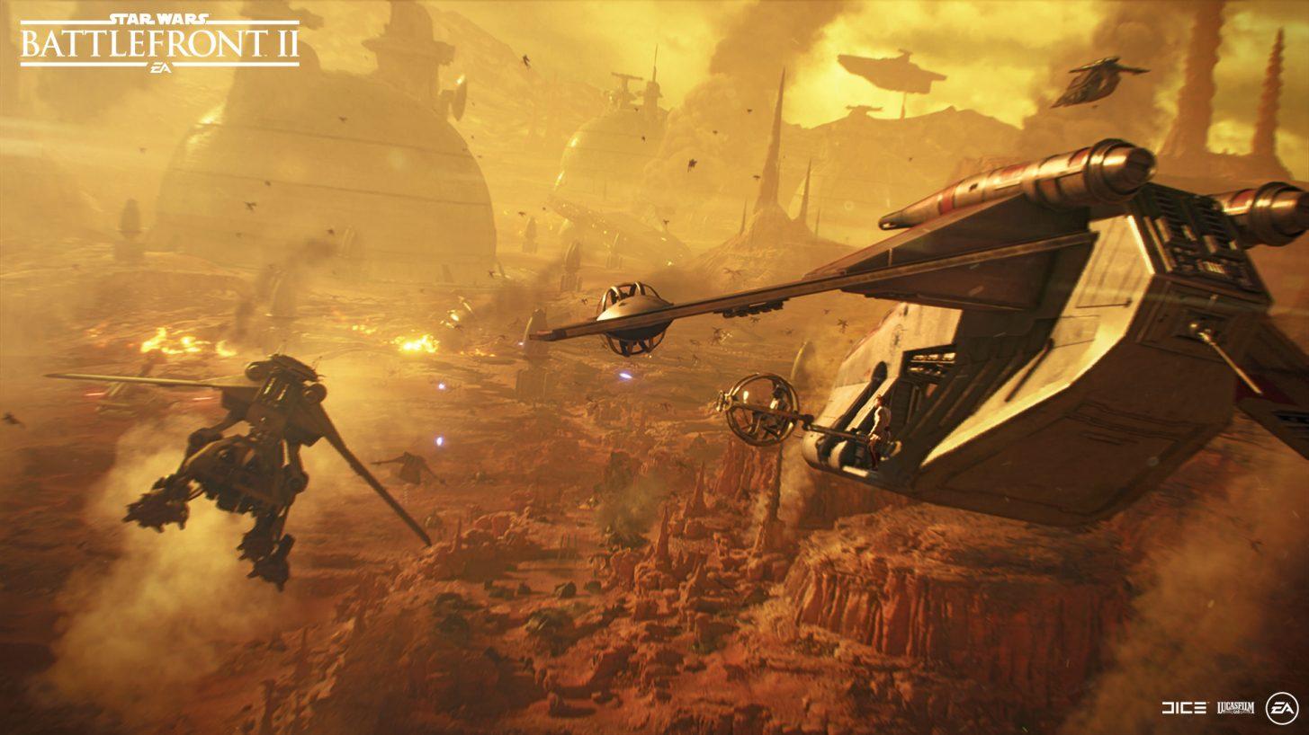 """Star Wars Battlefront 2: Update """"Eine weitere Nacht auf Endor"""" ab heute zum Download – Changelog"""