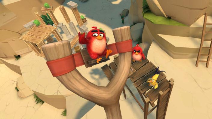 Angry Birds VR: Isle of Pigs für PlayStation VR erscheint nächste Woche
